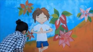 """Mural """"Jardin Del Ceibo"""""""