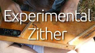 Experimental 3 Bridge Zither Build | Speed-Build and Demonstration