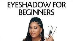 Eyeshadow for Beginners Tutorial   Sephora