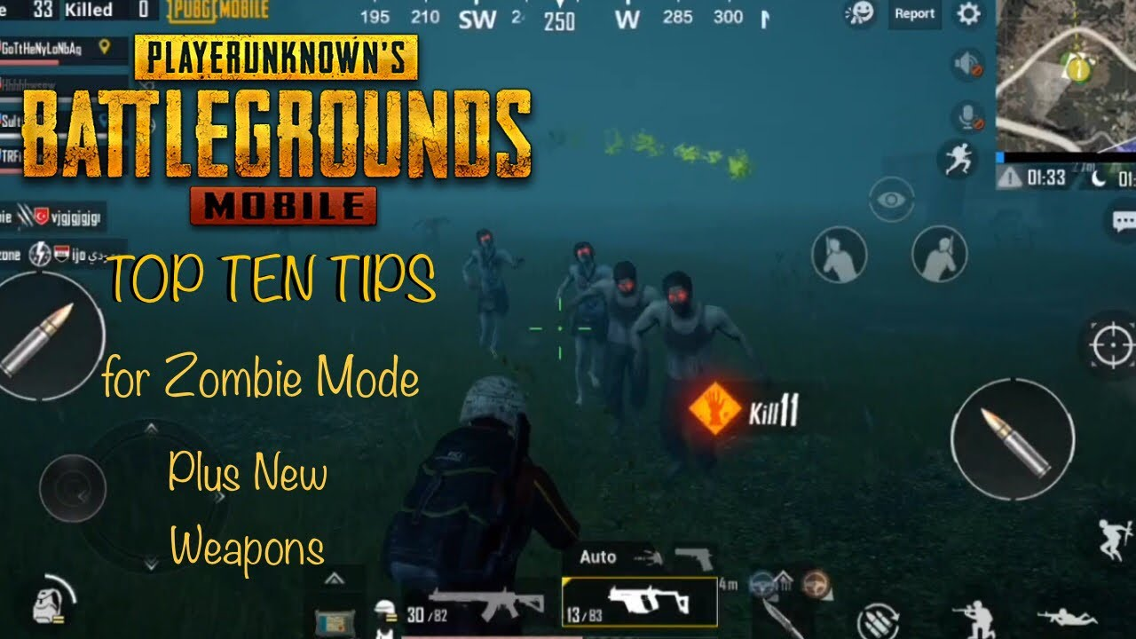 pubg mobile zombies guide