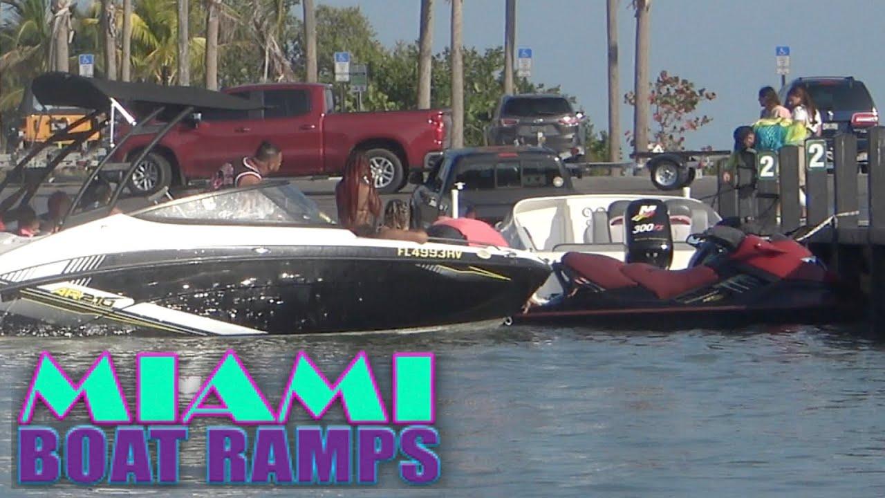 Off My Jet Ski Bro!!   Miami Boat Ramps   79th St
