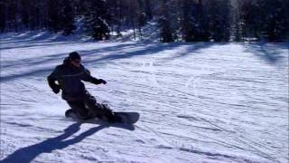 Лез Арк 1800  les Arcs 1800  soft snowboard SoftBoot Carving
