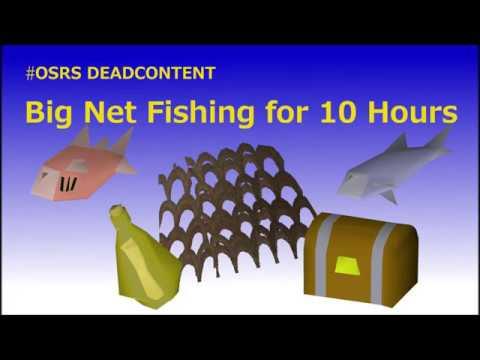 OSRS: Big Net Fishing For 10 Hours I OSRS Deadcontent I Borrow Iron OSRS