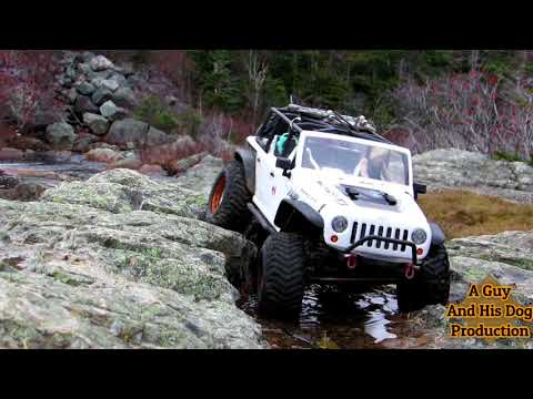 Axial Racing Scx10 Wrangler Unlimited .. Another Manuels River Adventure