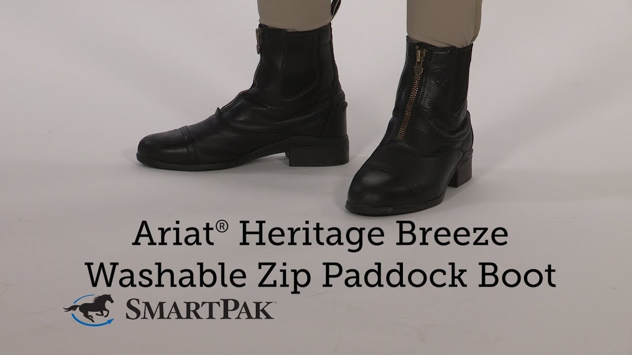bb60d5a86aa Ariat® Heritage Breeze Washable Zip Paddock Boot Review