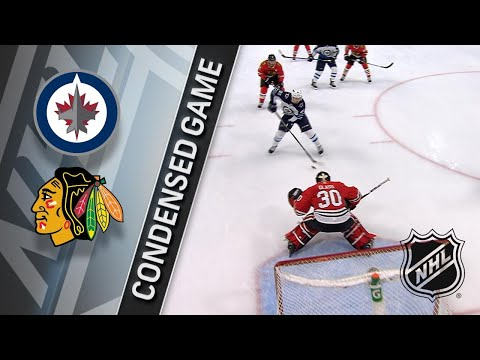 01/12/18 Condensed Game: Jets at Blackhawks