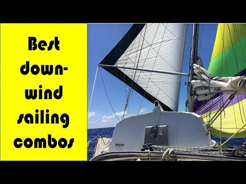 Downwind Sailing Combinations; On the Coconut Milk Run S2E4 Slow Boat Sailing