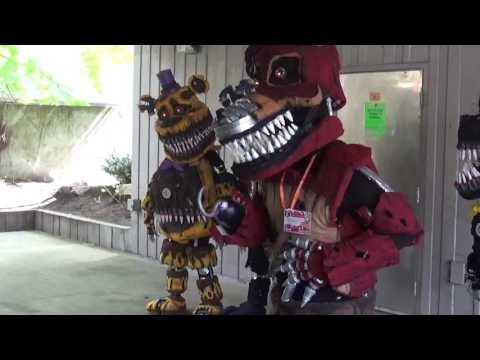 FNAF At Sakuracon 2017 totally awesome