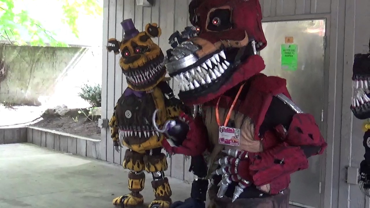 Fnaf At Sakuracon 2017 Totally Awesome Youtube