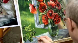 Занятие в школе живописи #8