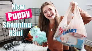 New Puppy Shopping Haul!!