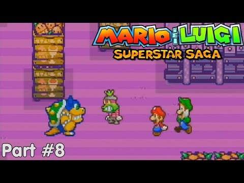 Slim Plays Mario & Luigi: Superstar Saga - #8. Low Class Thievery