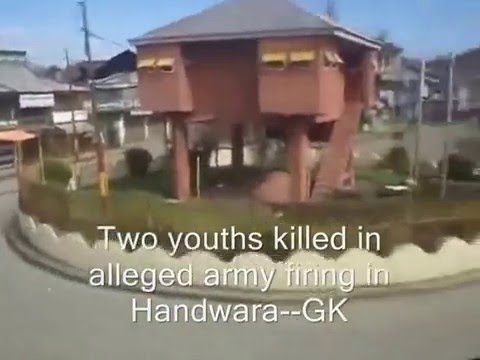 First Visuals From Handwara Where Two Youths Died In Army Firing