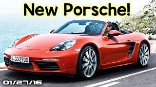 Porsche 718 Boxster, Snowboarding In Nyc Blizzard, Lamborghini Urus Production - Fast Lane Daily