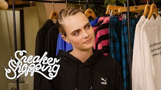 Sneaker Shopping S9 • E5 Cara Delevingne Goes Sneaker Shopping With Complex