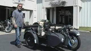1939 BMW-R12 Sidecar Motorcycle
