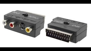 RCA TO SCART Adapter What have instide