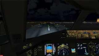 FSX - PMDG Boeing 777-200LR - KLAX to KLAS Full Flight C&D