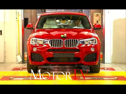 CAR FACTORY : ALL NEW 2018 BMW X3 l BMW X4 PRODUCTION l FULL ASSEMBLY LINE l Spartanburg Plant (US)