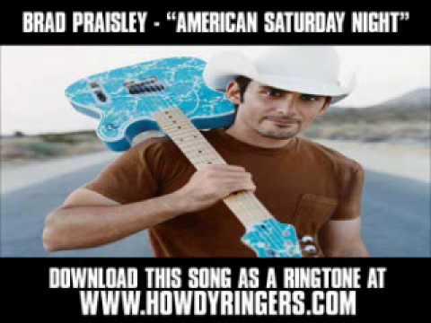 "Brad Paisley - ""American Saturday Night (Album Version)"" [ New Music Video + Lyrics + Download ]"