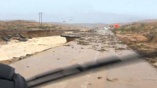 Flash Flood Survival Part 3 - I-15 Moapa Valley between Las Vegas and Mesquite Nevada, 9-8-2014