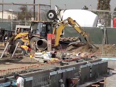 2006 Pool Construction At Golden West College