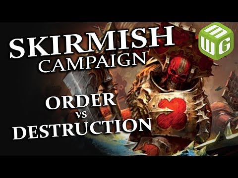 Order vs Destruction Age of Sigmar Skirmish Campaign Ep 7