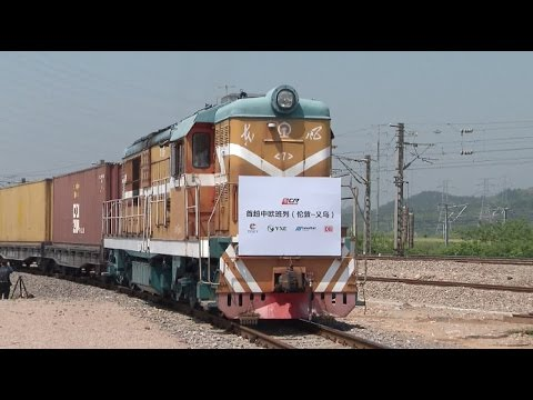 First China UK Freight Train Returns to China