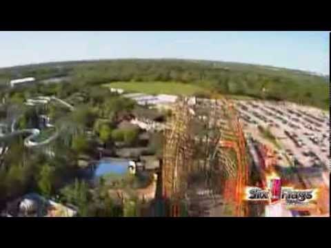 Goliath Worlds Tallest Steepest And Fastest Wooden Roller Coaster