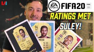 FIFA 20 Ratings Met Suley: 'Virgil van Dijk Had Boven Neymar Moeten Staan'