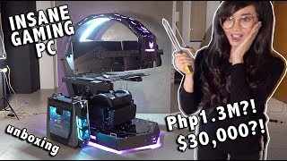 P1.3M GAMING PC RIG UNBOXING! (PREDATOR THRONOS)