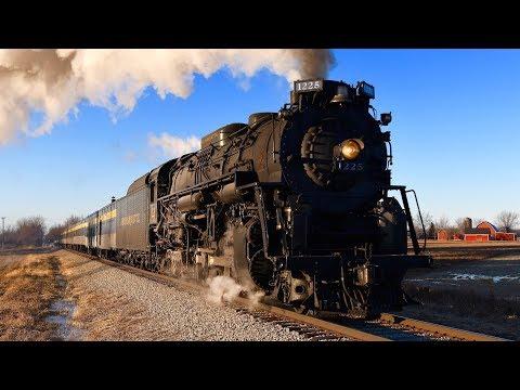 Steam Train 1225 Pere Marquette