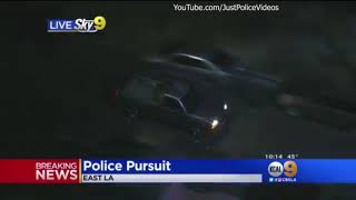LA Police Chase Ends in Subway Tunnel