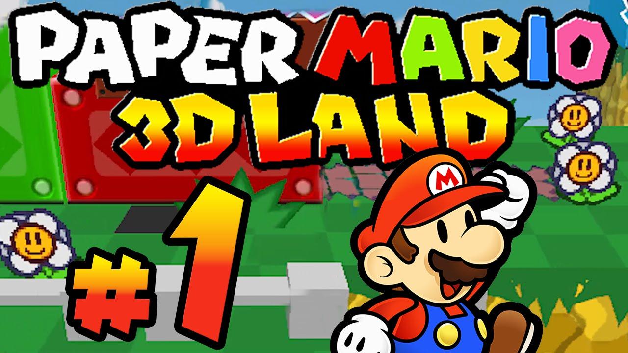Paper Mario 3d Land 01 3d Abenteuer Mit Paper Mario Hd