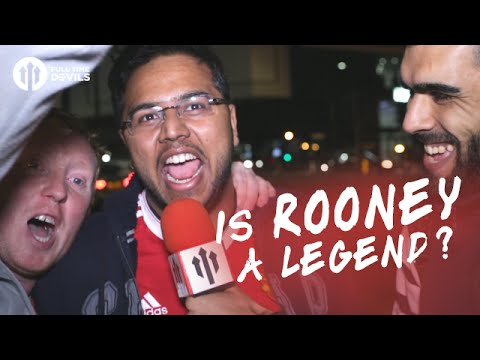 Is Wayne Rooney a Manchester United Legend? | Testimonial Fancams
