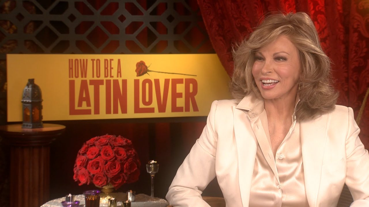 How To Be A Latin Lover Raquel Welch (celeste) Interview