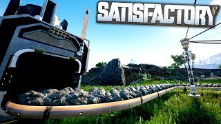 BEAUTIFUL First Person Factory Automation Game! - Satisfactory Gameplay First Look