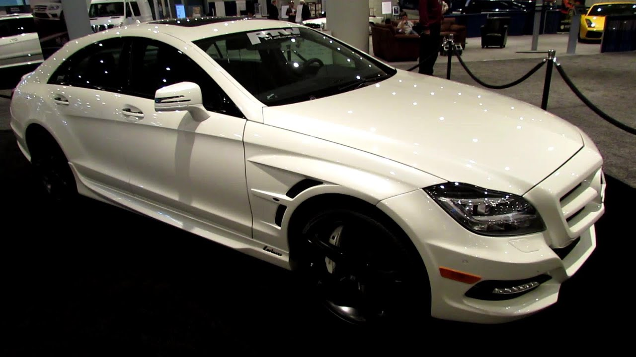 2012 mercedes benz cls550 lorinser kit by rtw motoring exterior walkaround 2013 ny auto show youtube