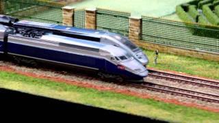 Mondial du modélisme - Parade TGV N 3/4