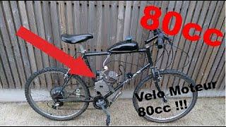 un moteur 80cc sur un vélo !!!!  \angry guy!!