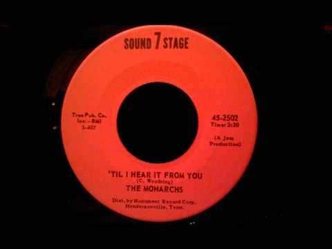 Monarchs - 'Til I Hear It From You - Excellent Louisville Doo Wop