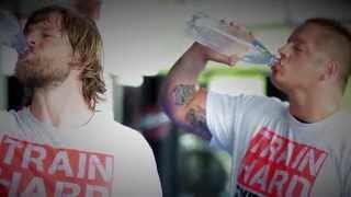 Henning baum trainiert krav maga mit michael rüppel