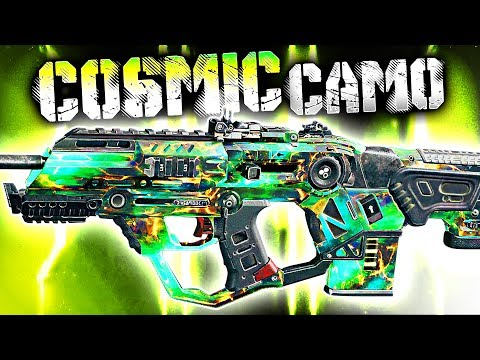 "I'M A HACKER?.. Using NEW ""Cosmic"" Camo in Black Ops 3!"
