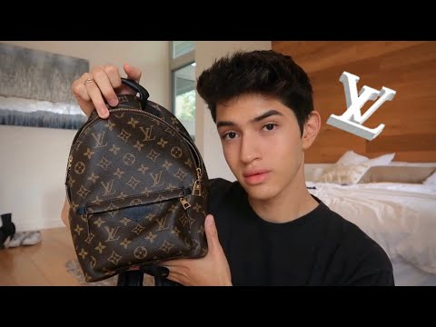 WHATS IN MY MINI BACKPACK! LOUIS VUITTON PALM SPRINGS thumbnail