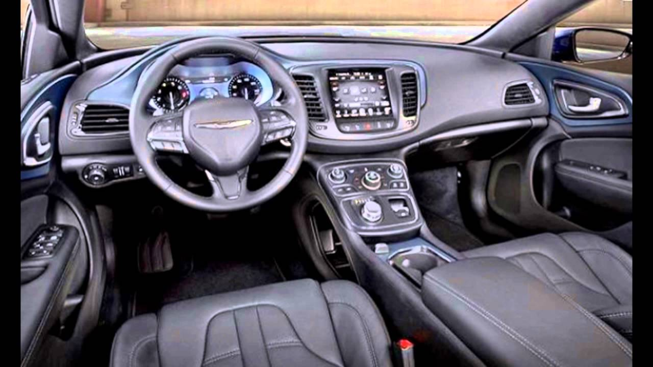 2016 chrysler 200 interior youtube