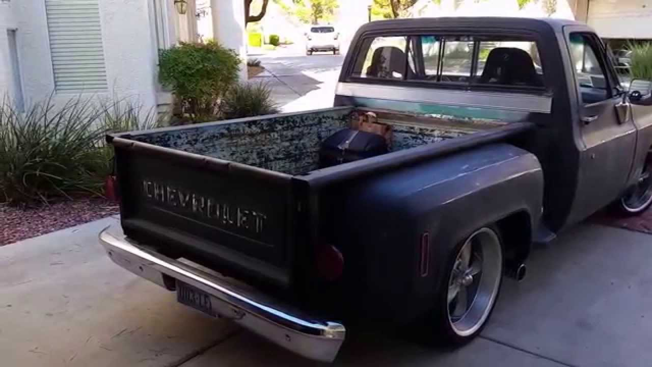 Pickup 74 chevy pickup : 1974 Chevy C10 Just LOWERED - YouTube
