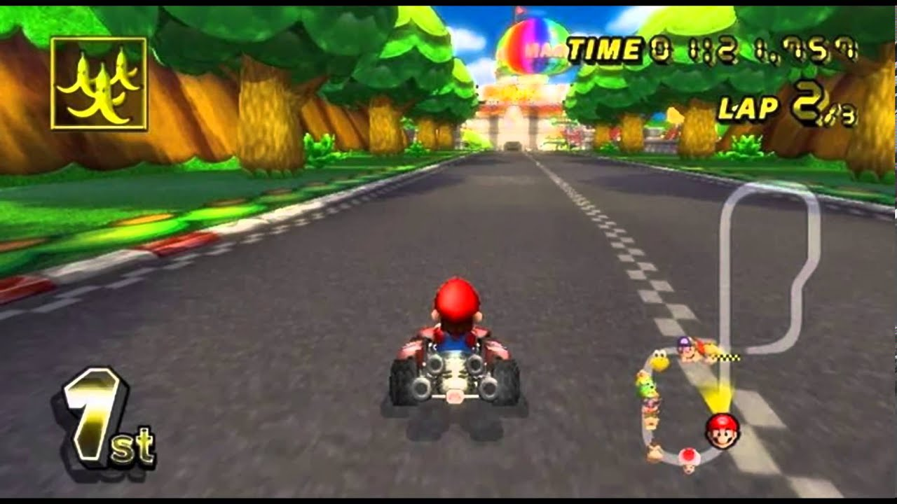 how to play mario kart online
