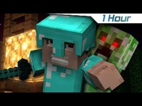 "Download [1 Hour] ""Revenge"" - A Minecraft Parody of Usher's DJ Got Us Fallin' In Love (Music Video)"