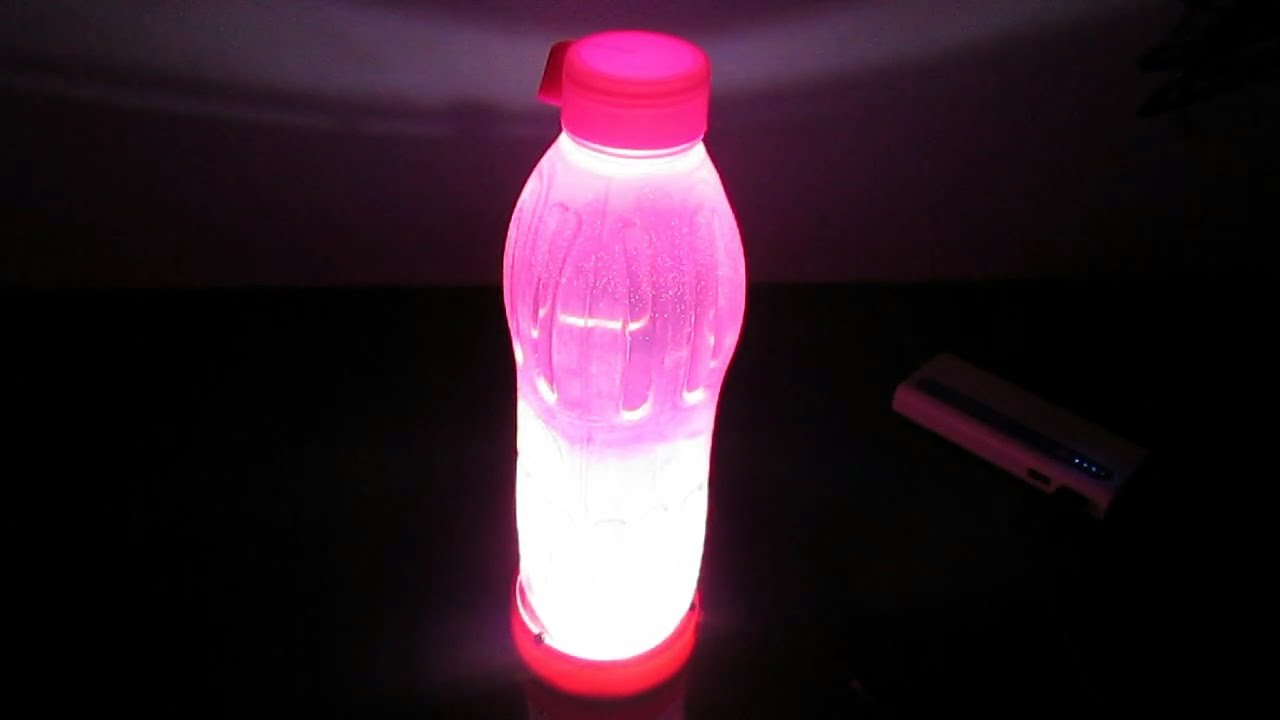 How to make simple night light and automatic water bottle for What to make out of water bottles