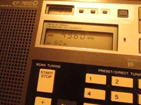 4960 Khz, Voice of America via Sao Tome, english news
